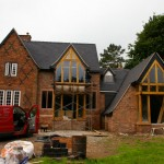 THE OLD VICARAGE, KINGSLEY - Works nearing completion