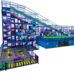 PLAY FACTORY- Largest UK slide structure schematic