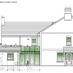 CHESTER ROAD, HARTFORD - Proposed side elevation