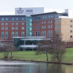 CROWNE PLAZA, NEC - View from the lake